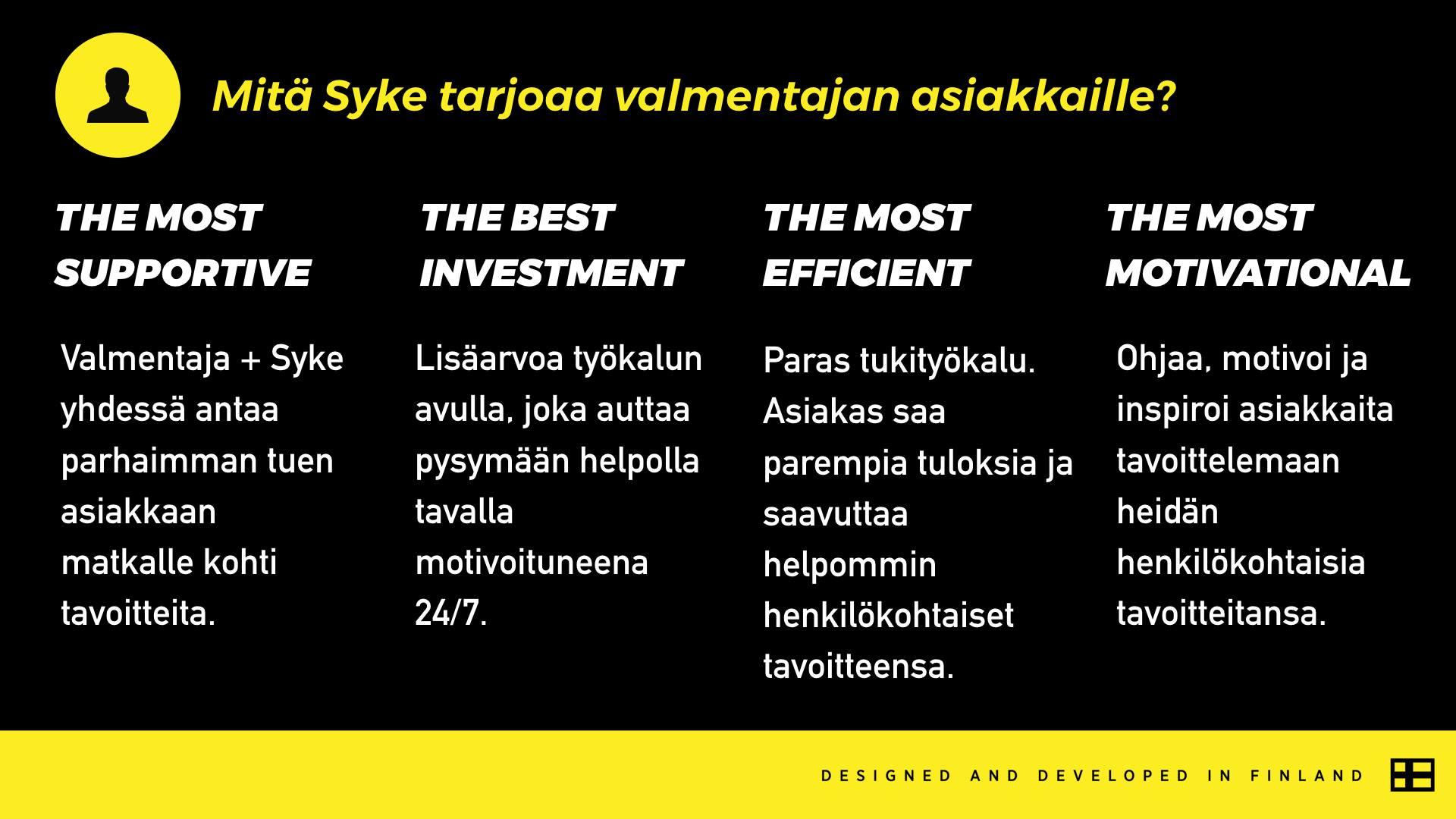 Mita-Syke-Tribe-tarjoaa-asiakkaalle
